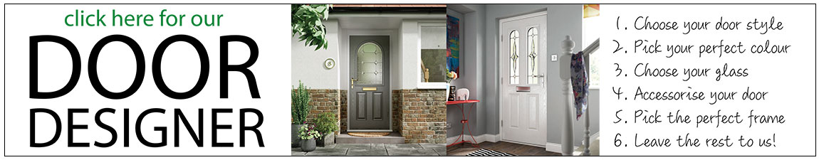 build your own door with our door designer